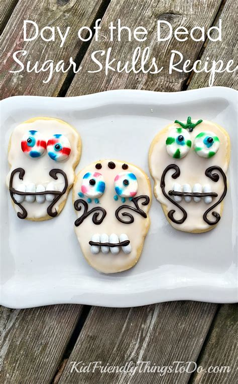 day of the dead sugar skulls cookie recipe