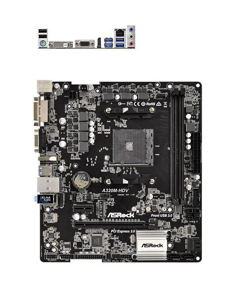 Ryzen 3 1200 Mb Asrock A320m Hdv asrock a320m hdv motherboard a320m hdv pc gear