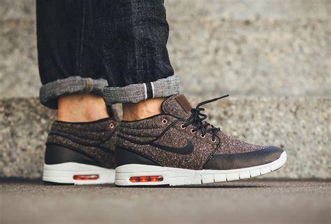Nike Janoski Max Go nike sb stefan janoski max mid tweed sneaker bar detroit