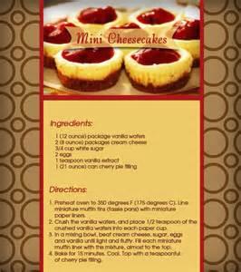 mini cheesecakes recipe sweet treats pinterest
