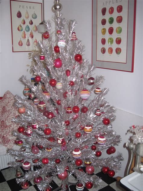 14 best grandma s aluminum christmas tree images on