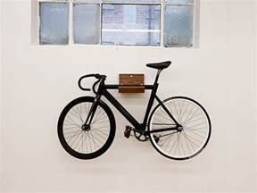 make wall mounted bike rack and shelf by consult