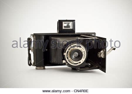 a collection of old vintage kodak brownie cameras