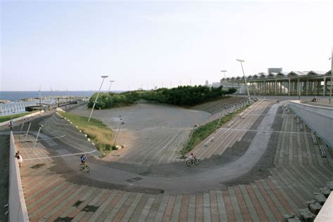 Landscape Architecture Barcelona Forum S E Coastal Park By Foa Foreign Office Architects
