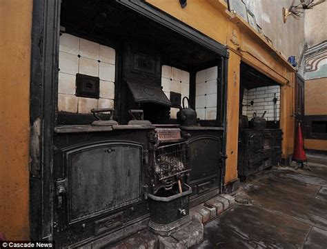 100 doors 17th floor kitchen that has remained for 60 years