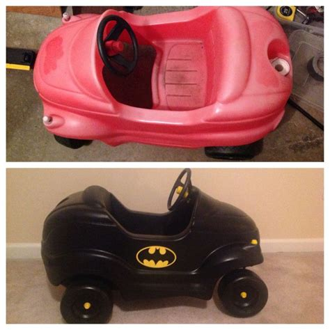 alternatief buitenspeelgoed before after pics of my little tikes car makeover my