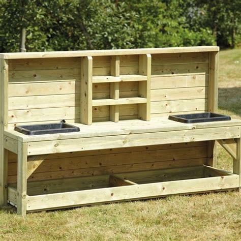 corner potting bench best 25 mud kitchen ideas on pinterest