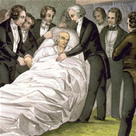 house history deaths the death of representative john quincy adams of massachusetts us house of