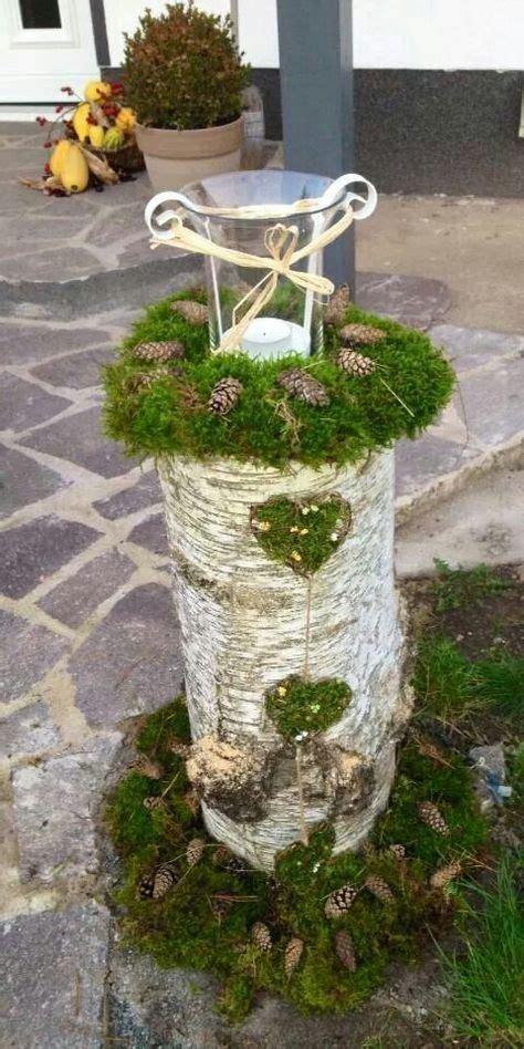Winterdeko Garten by Die 25 Besten Ideen Zu Baumstamm Deko Auf