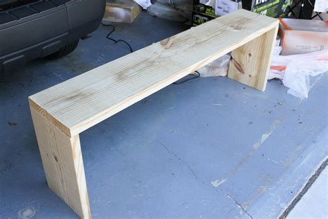 plans for building a bench entryway bench plans tutorial erin spain