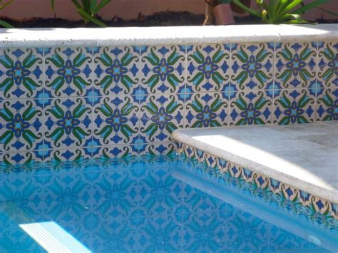 decorative pool tiles perth pool mediterranean pool perth by decorative
