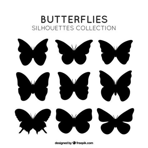 imagenes mariposas siluetas siluetas insectos fotos y vectores gratis