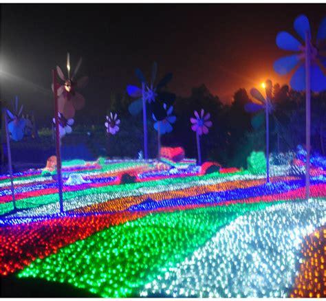 best led christmas net 6mx4m 672 led outdoor net lights string wedding decoration ac