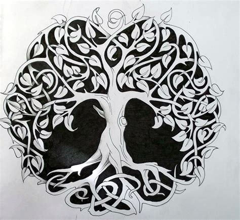 Fire Truck Wall Stickers celtic tree of life 1 by tattoo design on deviantart