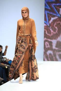 Abaya Mawar Mini model baju batik dian pelangi hicap model