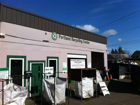 portland recycling centers closed