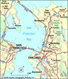 san francisco on map of california san francisco bay area map beautiful scenery photography