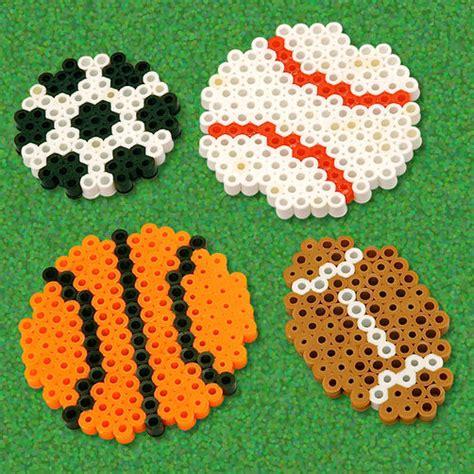 perler bead sports patterns play perler