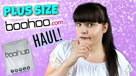 boohoo plus size haul try on australia youtube spring