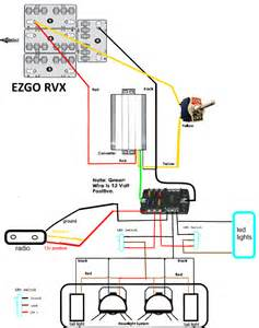 rxv voltage reducer toggle fuse block hookup help please