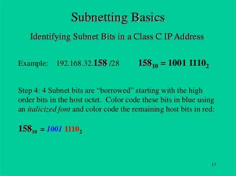 subnetting tutorial class a subnetting basics tutorial