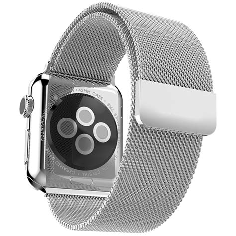 Bracelet Milanais Acier Inoxydable   Apple Watch   Band Band