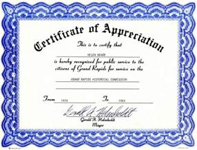 Certificate Of Recognition Templates by Free Certificate Of Recognition Certificate Templates