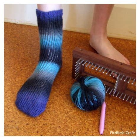 Fitzbirch Crafts Loom Knit Socks