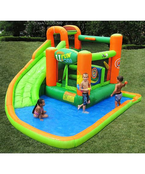 backyard inflatable water park best 25 water bounce house ideas on pinterest