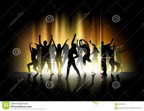 dance party light show dance and light show stock vector image of woman