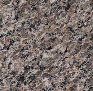 J And K Kitchen Cabinets by New Caledonia Granite Brown