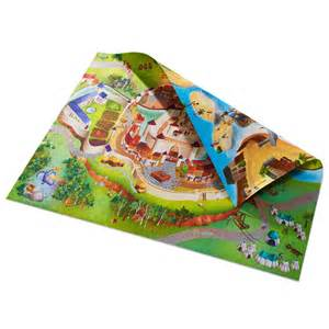 Playroom Floor Mats Uk Childrens Pirate Sided Playmat Available In 2 Sizes
