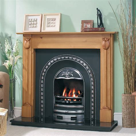 Gas Fireplace Inserts Uk by Classic Design Cast Tec Tulip Arch Fireplace Insert