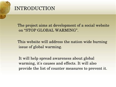 How To Stop Global Warming Essay by Thesis Statement For Global Warming 187 100 Original