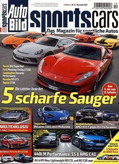Auto Bild Sportscars Abo Kündigen by Auto Bild Sportscars Abo Im Abo Preis Pr 228 Mien Vergleich