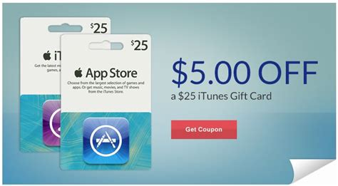 Itunes Gift Card Coupons - 5 00 off 25 00 itunes rite aid coupon first 10 000 only