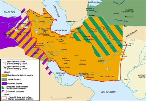 Ottoman Empire Timeline Map File Map Safavid Png Wikimedia Commons