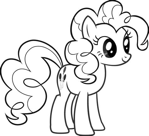 easy pony coloring pages pinkie pie my little pony coloring pages lochy turns 4
