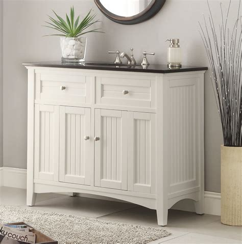 white sink vanity adelina 48 75 inch antique white sink bathroom vanity