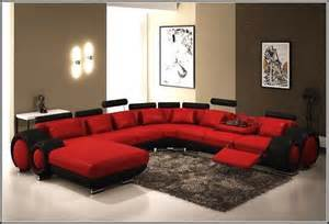 Modern Leather Sectional Sofa With Recliners Leather Sectional Sleeper Sofa Living Room Leather Sectional Left Chaise Black Inside Sleeper