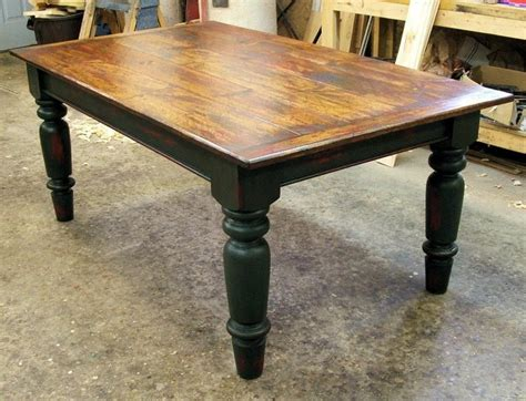 vermont farmhouse table by furnacebrookiron on etsy