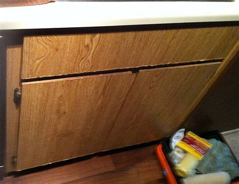 water damaged kitchen cabinets kitchen base cabinet water damage in sacramento you