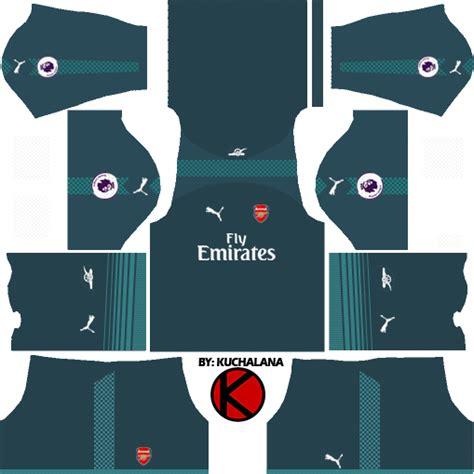 arsenal kit dls arsenal kits 2017 2018 dream league soccer 2017
