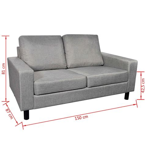 light grey sofa set light grey sofa set 2 seater and 3 seater vidaxl com au