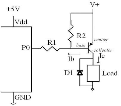 transistor pnp switch circuit pnp transistor wiring pnp get free image about wiring diagram