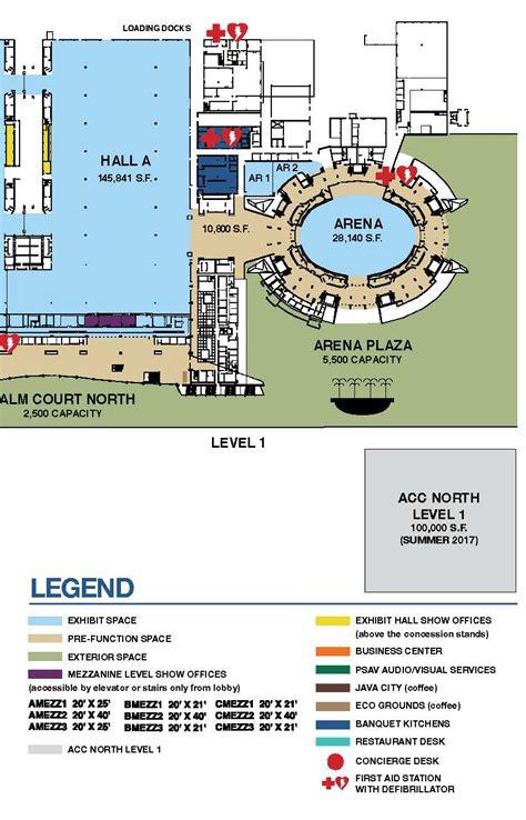 anaheim convention center floor plan arena capacities anaheim ca official website