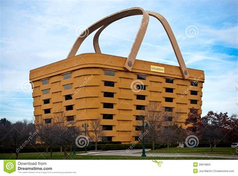 Handmade Baskets Ohio - basket shaped longaberger company home office editorial