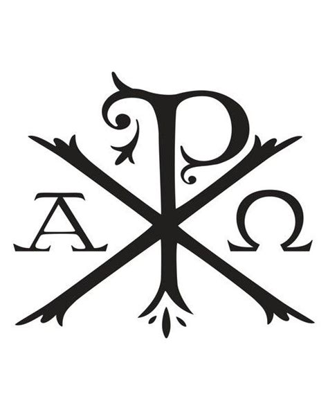 px christian tattoo meaning chi rho alpha omega tattoo pinterest