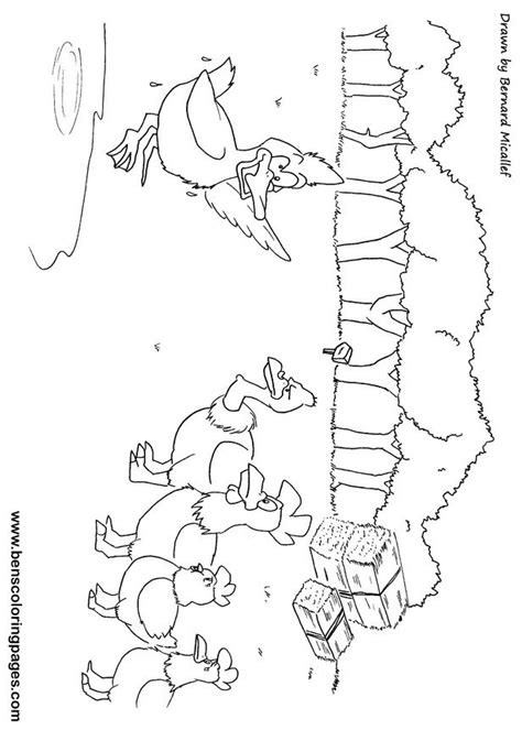 chicken licken coloring page free coloring pages of chicken masks