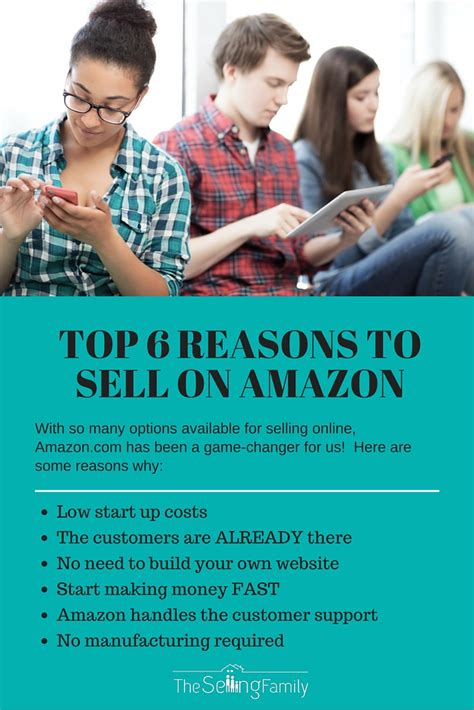 best sell amazon top 6 reasons to sell on amazon the selling family